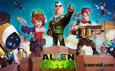 Alien Creeps TD - خزش بیگانگان