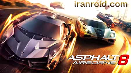 Asphalt_8 airbone - آسفالت