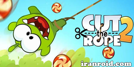 Cut the Rope 2 طناب را ببر