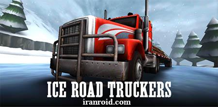 بازی رانندگی در جاده های یخی Ice Road Truckers